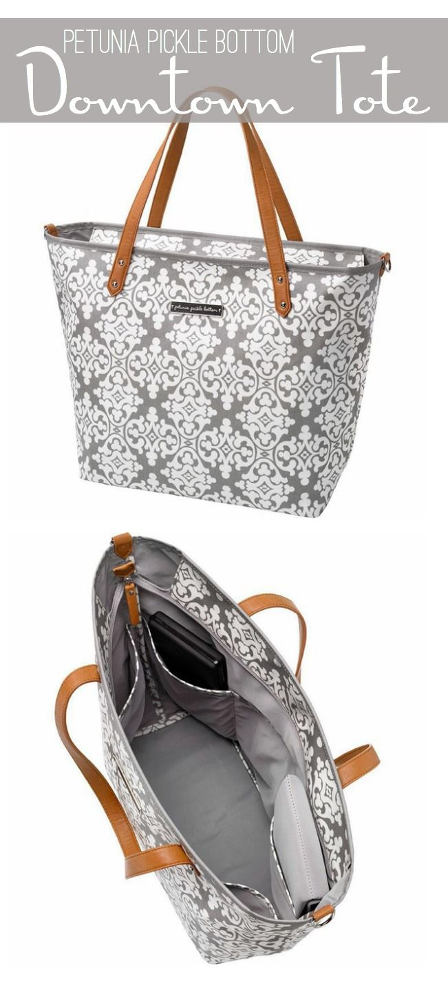 From Baby and Beyond with Petunia Pickle Bottom's Downtown Tote | The Shopping Mama