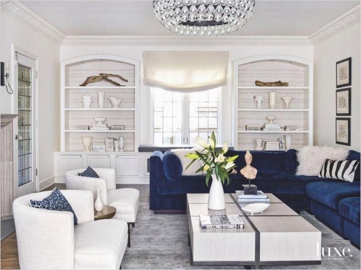 41 Amazing Navy Blue And White Living Room Ideas Decorewarding Blue Sofas Living Room Velvet Sofa Living Room Glam Living Room