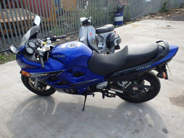 #Auction 2004 SUZUKI GSX 600 FK 600 cc, VIN No. JS1AJ111100