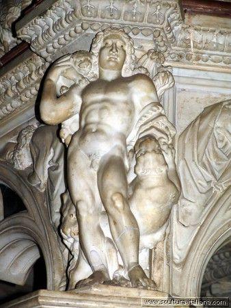 Nicola Pisano - Pulpito (particolare, Pisa, Battistero, 1260)