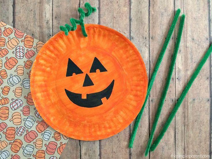 Super Speedy No-Sew Ghost Finger Puppets - halloween crafts ideas