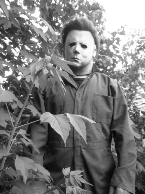 Michael Myers Halloween favorite horror movie of all time.
