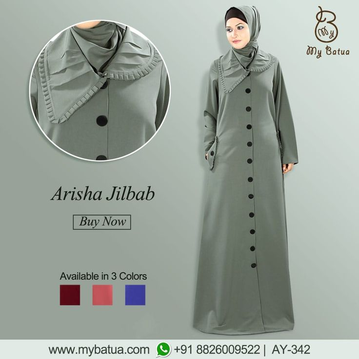 A perfect formal wear for modest Muslimahs. Arisha Jilbab looks stunning and stylish on any occassion.  #arishajilbab #occassionwear #jilbab #fashion #muslimwear #style #clothing #picofday #summercollection #mybinsta #sisterhood #modestfashion #womenclothing #ootd #yaz #islamicclothing