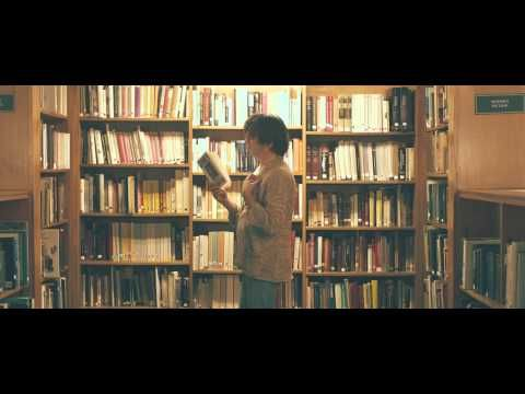 """Rufus Wainwright's new video, """"Out of the Game."""" I imagine that I will be this sort of librarian in a few years."""