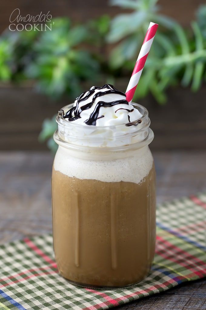 If you like Starbucks blended drinks, you will love this homemade mocha frappuccino! Full of mocha flavor and topped with fresh whipped cream, ...