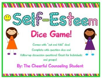 Looks like a great game to play with small groups (self esteem, friendship, girls group, etc.)
