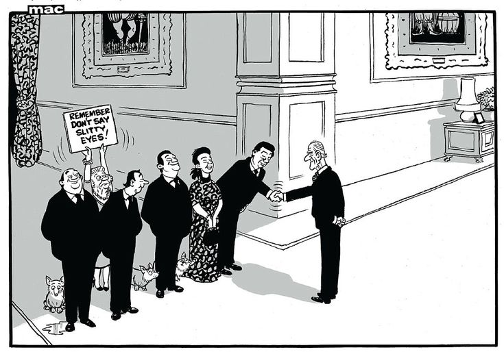 Mac on... The Chinese president's state visit to Britain  | Daily Mail Online