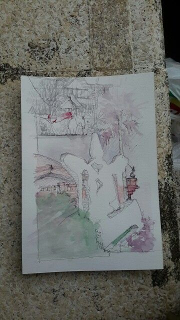 antonio blanco museum | watercolor on paper