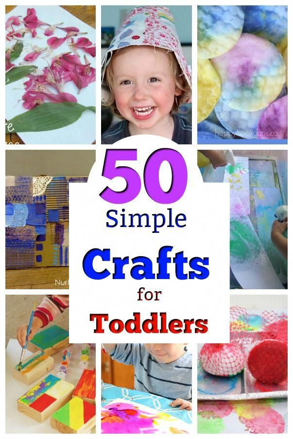 50 Perfect Crafts For 2 Year Olds Teaching Toddlers Pinterest