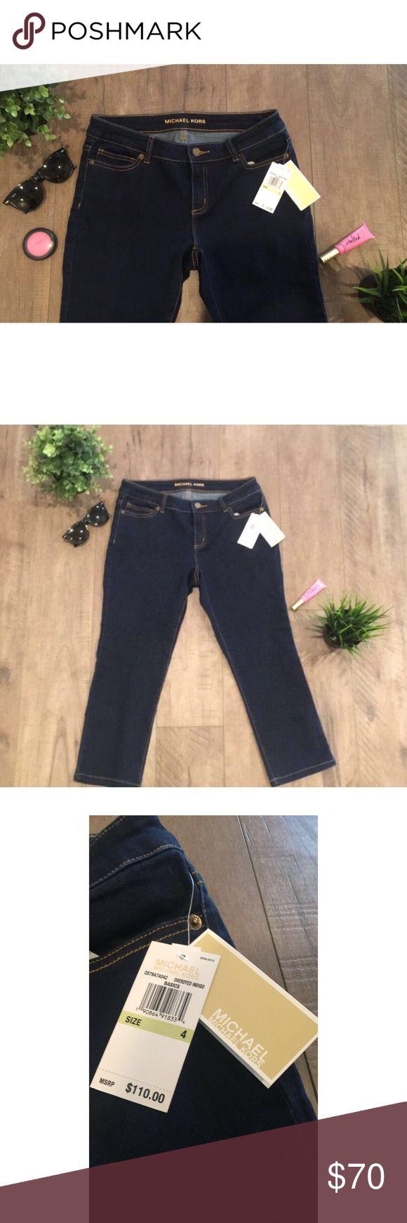 NWT Michael Kors jeans NWT, never worn. Michael Kors Cropped jeans Michael Kors Jeans Ankle & Cropped