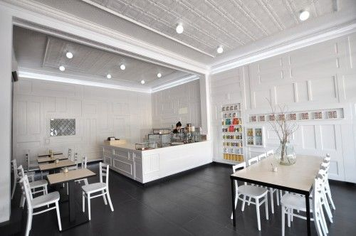 color... but with texture || 04721 modern simplicity cafe interior design idea1 500x332 Modern Cafe Bakery Patisserie Store Interior Design by Sasufi