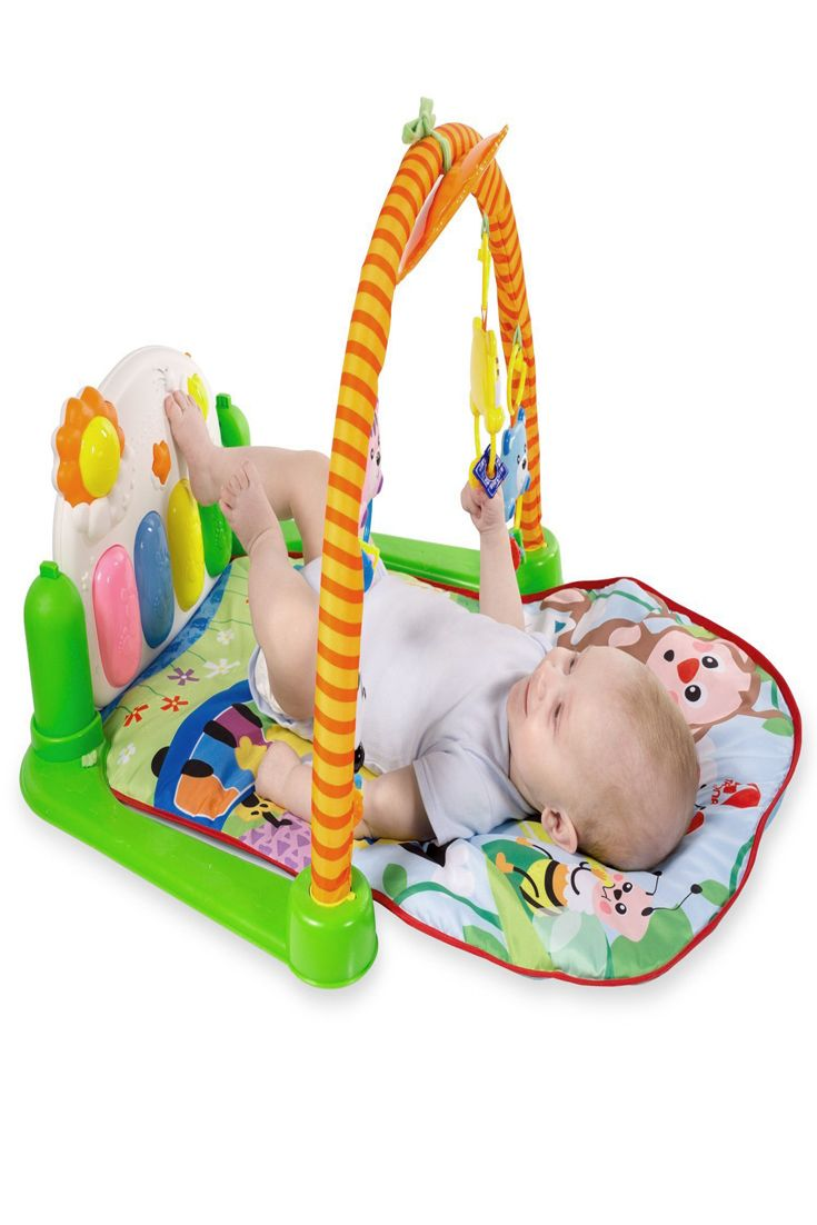 How To Play Newborn On Piano Baby Play Mat Kick And Play Piano Gym Tapiona Funny Mat