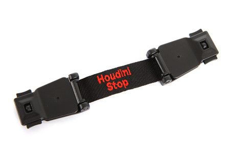 Houdini Stop - Chest Strap. Ideal for toddlers who want to get their arms out of their car seat or stroller straps.