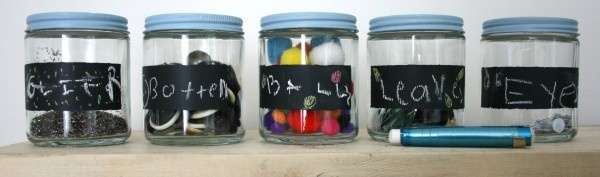 Recycled Craft Jars