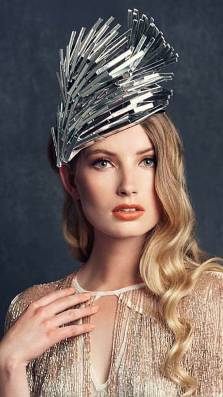 Ana Bella Millinery. Unique stylish hair hat accessories.