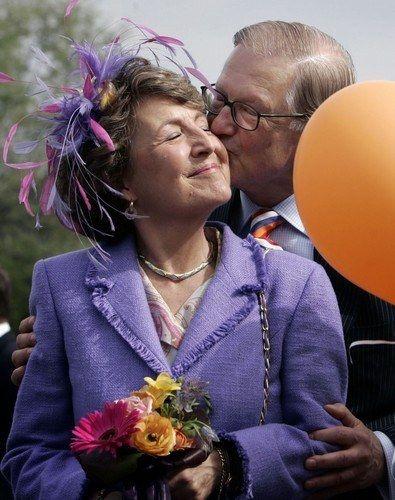 Princess Margriet and Mr. Pieter van Vollenhoven. My favorite couple.