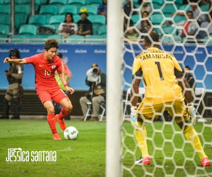 [04.08] Fiji x Coréia Olimpíadas Rio 2016  #soccer #soccerball #rio2016 #photography #olimpiadasrio2016 #salvador #photooftheday #photographer #coreia #fiji  #framephoto