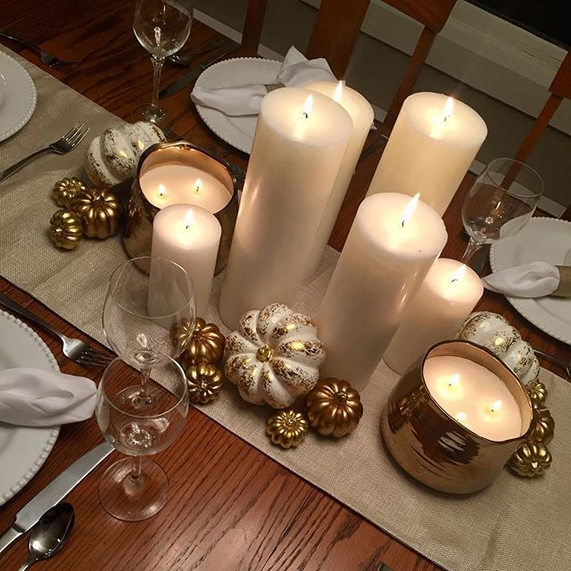gold candles design decor champagne and home