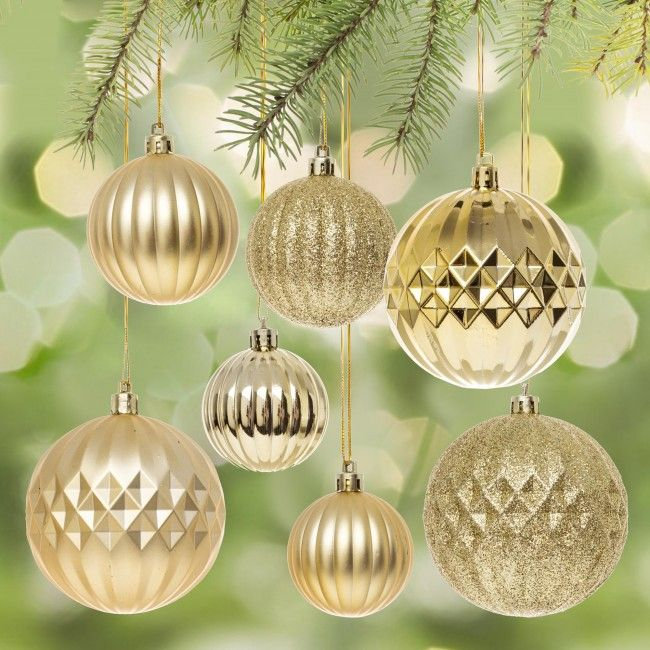 Decorate your tree with these classic Christmas ornaments. Perfect for creating an traditionally decorated tree or using as a base ornament with your fun and stylish accent ornaments.    Whether you're looking for stocking stuffers, Secret Santa presents, festive Christmas decor or even gift cards, we have a huge selection of unique holiday stuff to make your days and nights merry and bright.