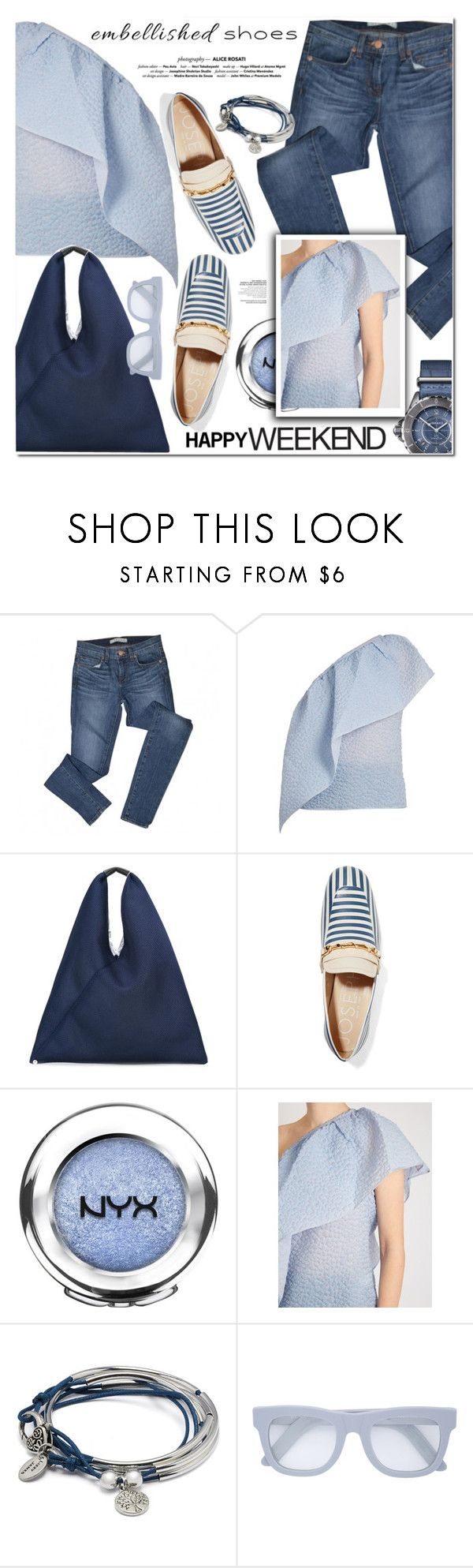 """""""HAVE A NICE WEEKEND POLY FRIENDS"""" by nanawidia ❤ liked on Polyvore featuring J Brand, Rosie Assoulin, MM6 Maison Margiela, Joseph, NYX, Chanel, Lizzy James, RetroSuperFuture, polyvoreeditorial and polyvorecontest"""