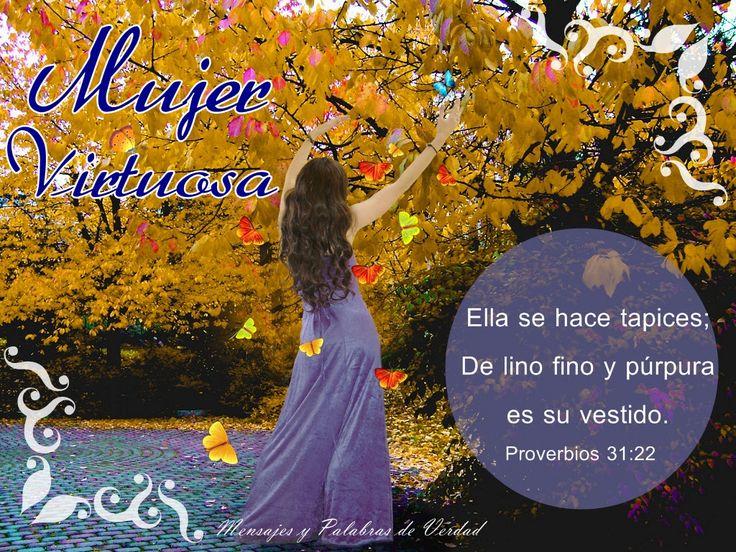 Imágenes Cristianas - Banco de Imagenes: Mujer Virtuosa (Proverbios 31:10-30)