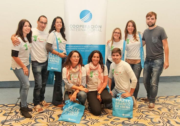 En Sevilla, Voluntarios Cetelem participaron en un programa de reparto de alimentos, ropa, juguetes y medicinas