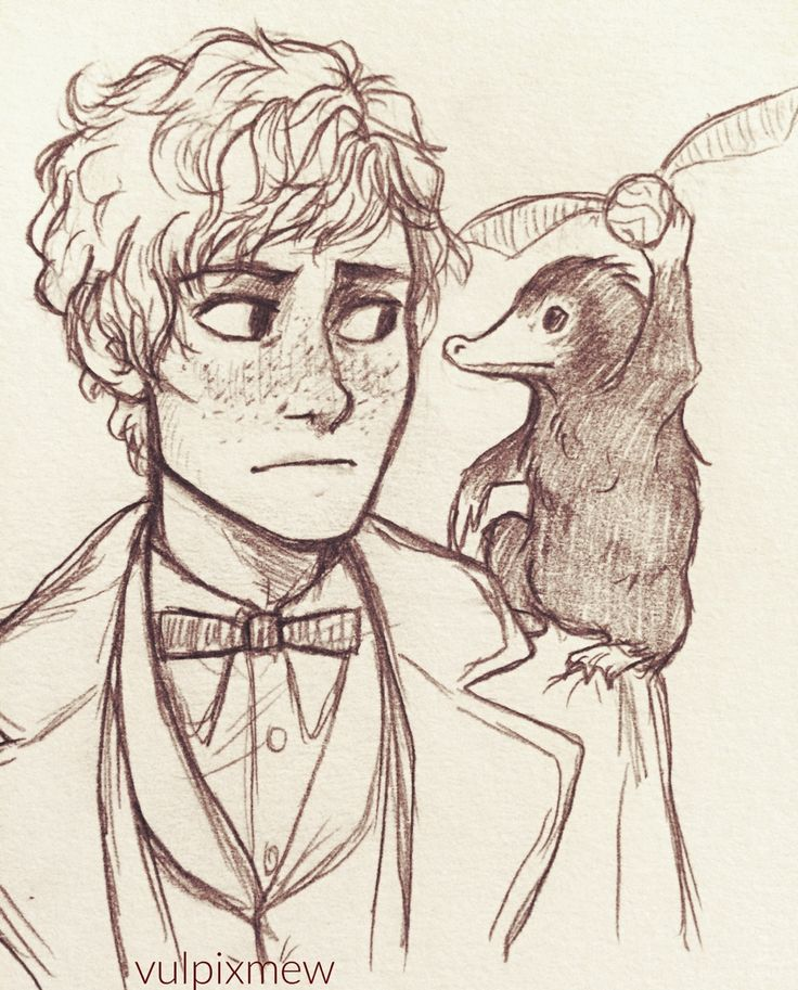 Niffler: *holds the snitch* Newt: Where did you even get that?