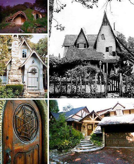Storybook Real Historic Homes Architecture Gothic And