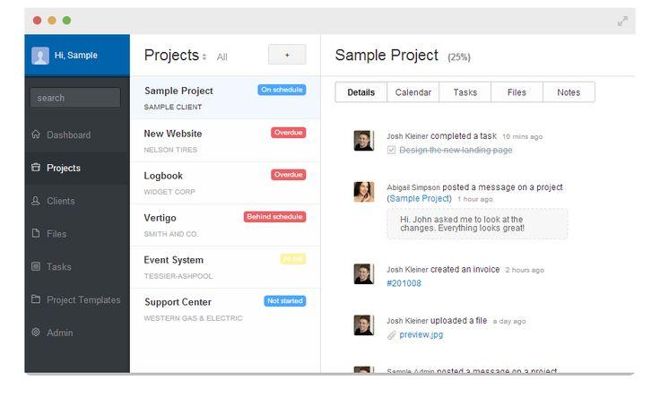 Solo is een project management app gemaakt voor freelancers. De App is heel overzichtelijk, je kan er bestanden op uploaden, je taken opschrijven, klanten gegevens op opslaan. Je kan er ook projecten opzetten en daar dan contacten aan toevoegen. Die contacten kunnen dan communiceren met elkaar en overzichtelijk aan het project werken. je kan ook je project progressie bekijken. http://www.getsoloapp.com/home