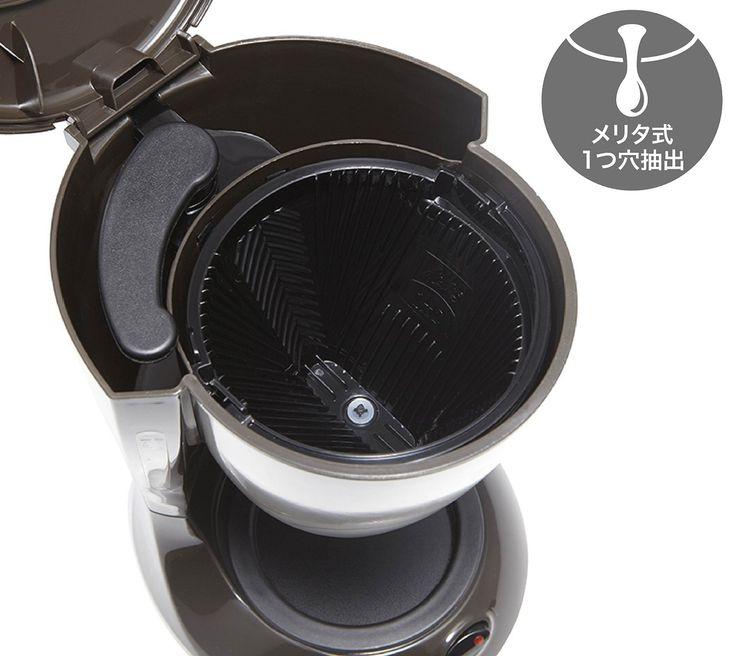 Amazon.co.jp: Melitta(メリタ) コーヒーメーカー 【2-5杯】 ES (エズ) ダークブラウン SKG56T: ホーム&キッチン