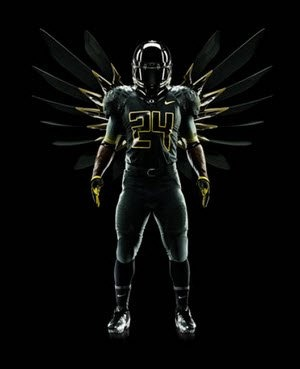 Oregon Just Unveiled The Crazy Stormtrooper Uniforms They're Going To Wear In The Rose Bowl