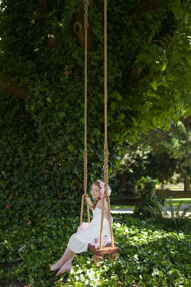 Cedar Swing from Eosedale Swing company handing