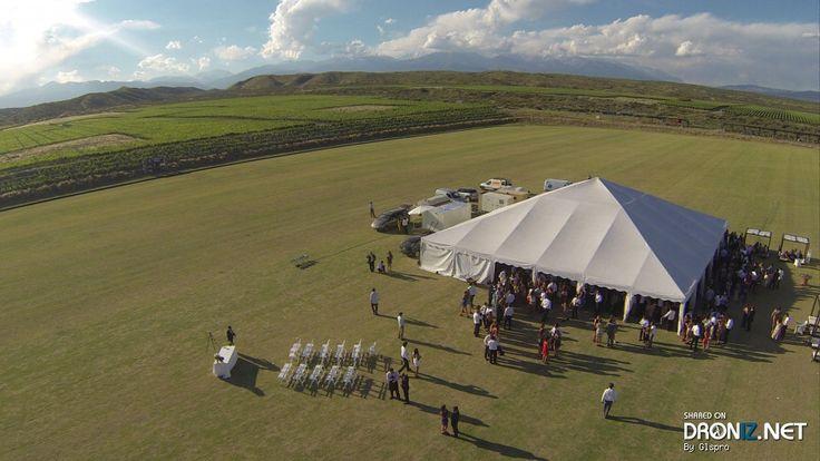 Aerial drone Photo from Argentina by Glspro : Patricias Mendocinas 1002-1100, Mendoza, Mendoza Province, Argentina