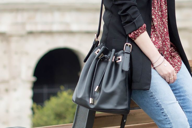 come indossare il jeans con l'orlo sfilacciato dressing&toppings  bags 2016 www.dressingandtoppings