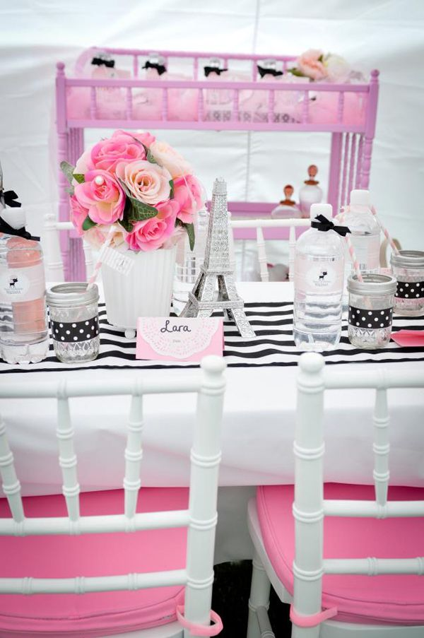 pamper party business plan