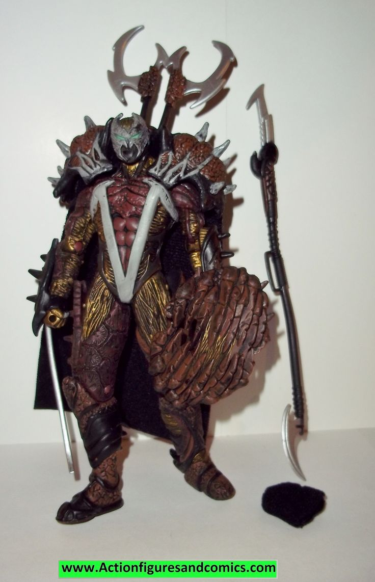 Todd McFarlane Toys, SPAWN action figures 1997 series 9, MANGA NINJA SPAWN 100% COMPLETE Condition: Excellent figure size: approx. 6 inches ------------------------------------------------------------