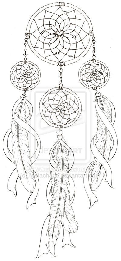 Dream Catcher Tattoo by Metacharis.deviantart.com on @DeviantArt