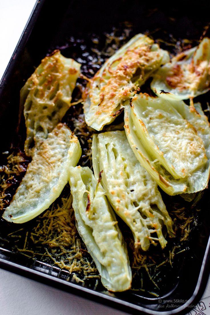Kyckling i krämig citron, rosmarin och- vitlökssås - 56kilo - parmesangratinerad fänkål