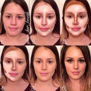 Contorno de rostro