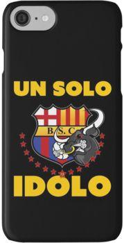 """Barcelona Sporting Club """"Un solo Idolo"""" iPhone 7 Cases"""