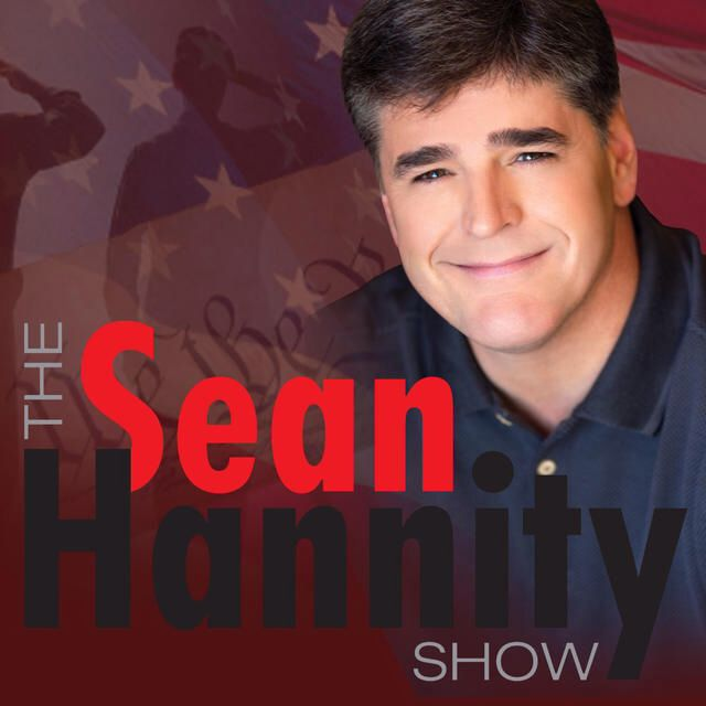 I'm listening to The Sean Hannity Show, Donald Trump came out swinging in rem... ♫ on iHeartRadio