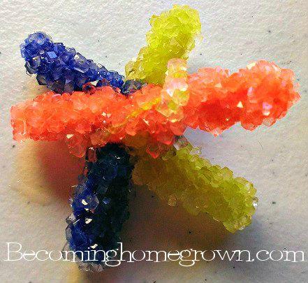 Borax craft crystals star