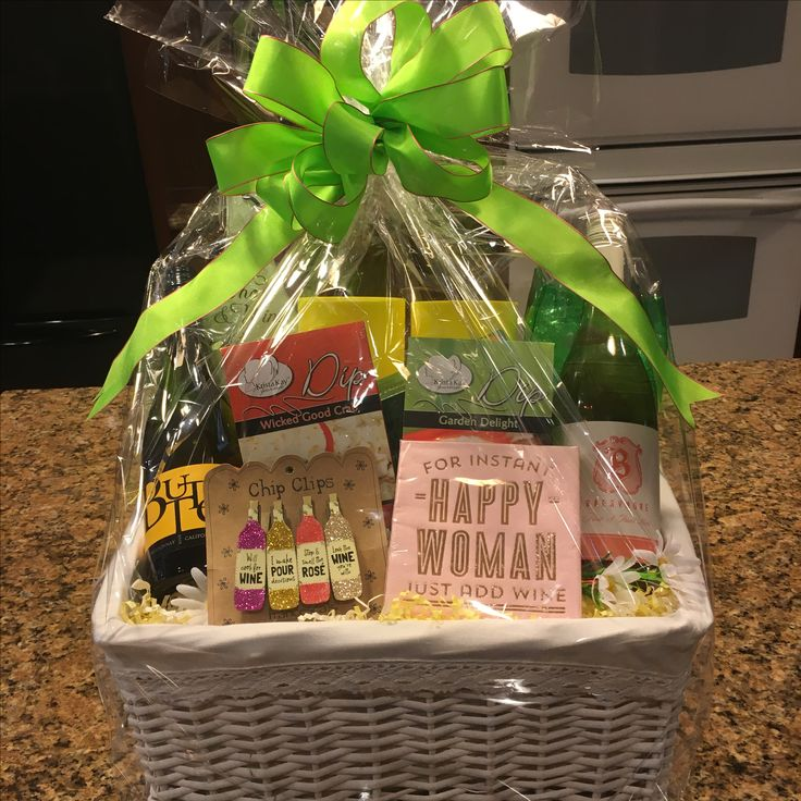 14 best chicago gift baskets images on pinterest gift basket wine lovers basket for women negle Gallery