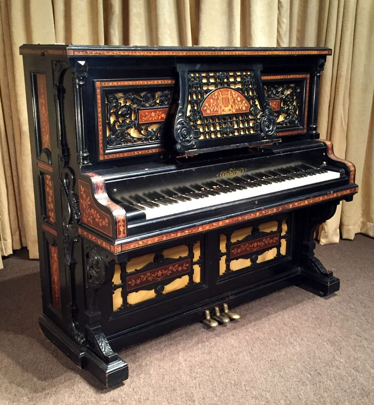 When uprights were grand: 1880 Chickering Upright custom-built