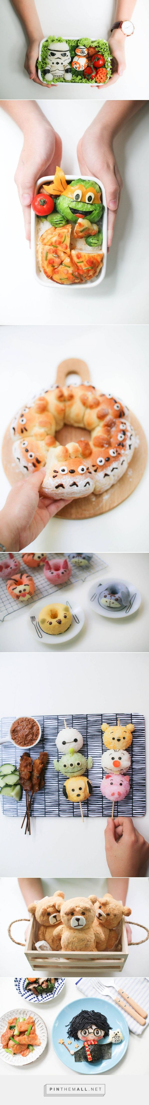 Cute Mom Cooks Cartoon-Inspired Meals for Her Kids – Fubiz Media - created on 2016-04-20 15:15:08