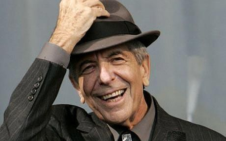 Leonard Cohen - I have loved this man since the 80's.  He is absolutely amazing and seems to get better with age. One of his songs inspired my daughters name, Marianne.