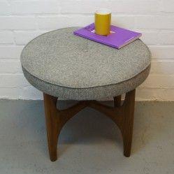 Vintage teak G-Plan Fresco stool from vintageactually.co.uk Award winning vintage homestore