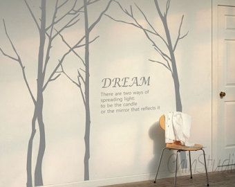 Vinyl Wall Decals wall stickers nature animal wall by ChinStudio