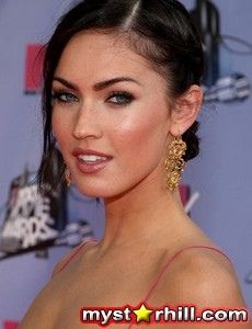 megan fox her boyfriend Brian's name on her