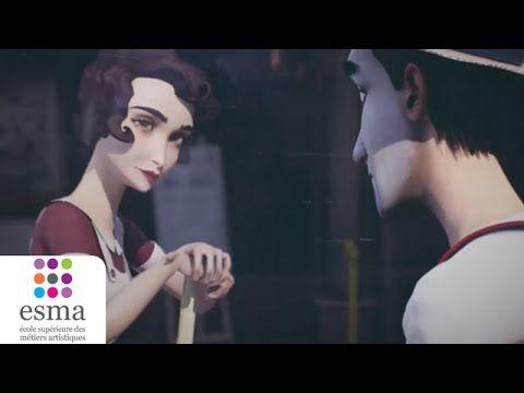 Une femme de ménage, un mime, une histoire d'amour